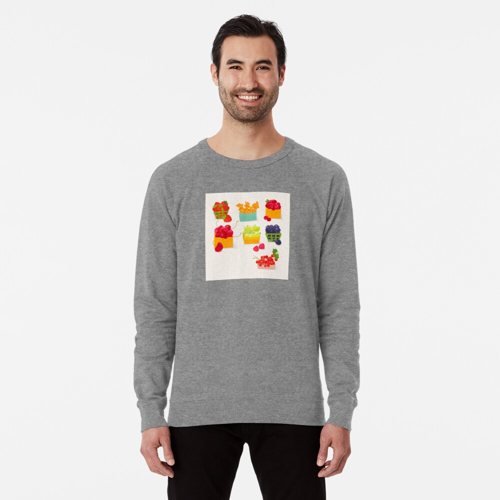 Sweet Berries Lightweight Sweatshirt