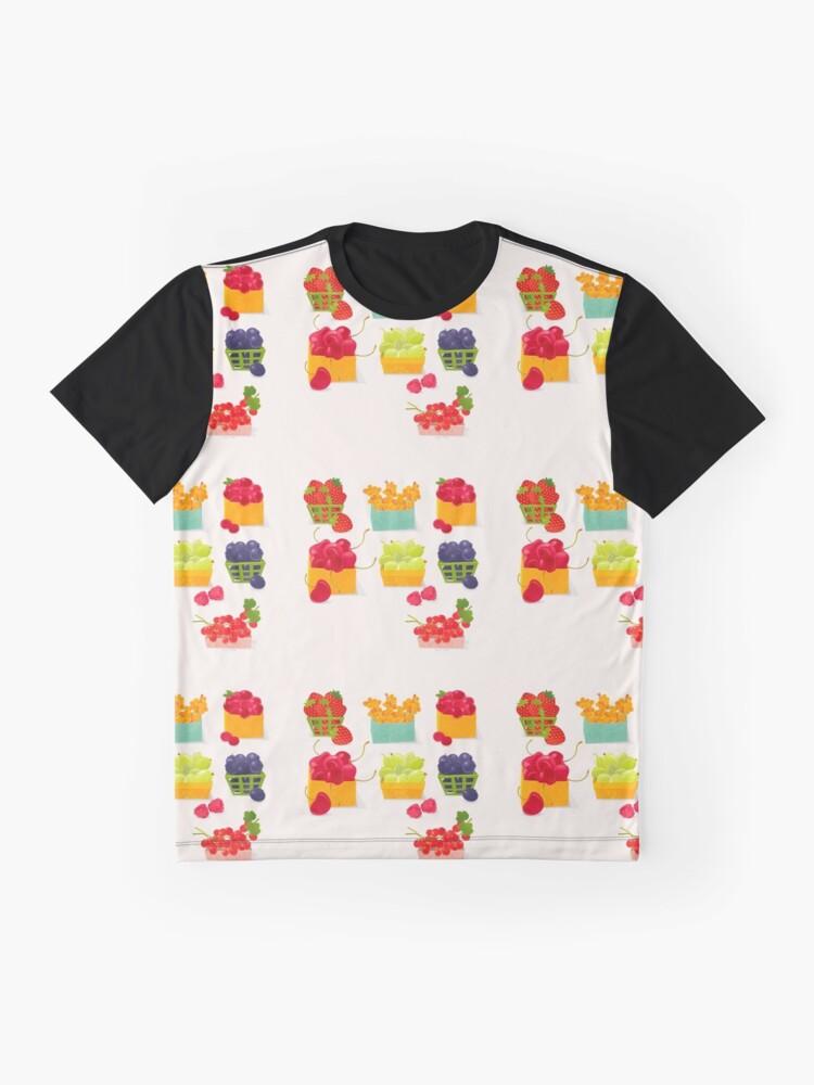 Alternate view of Sweet Berries Graphic T-Shirt