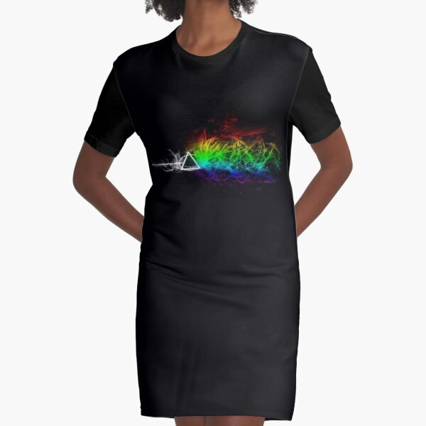 Pink Floyd - The Dark Side Of The Moon Graphic T-Shirt Dress