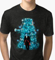 Into Darkness v2 Tri-blend T-Shirt