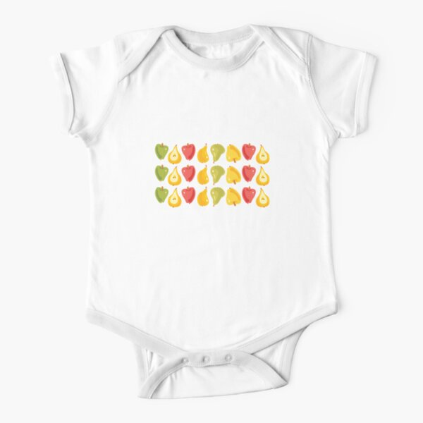 Apples & Pears Short Sleeve Baby One-Piece