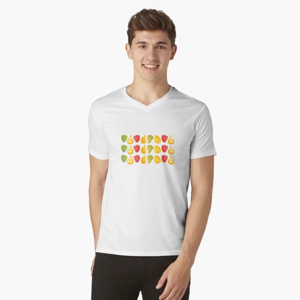 Apples & Pears V-Neck T-Shirt