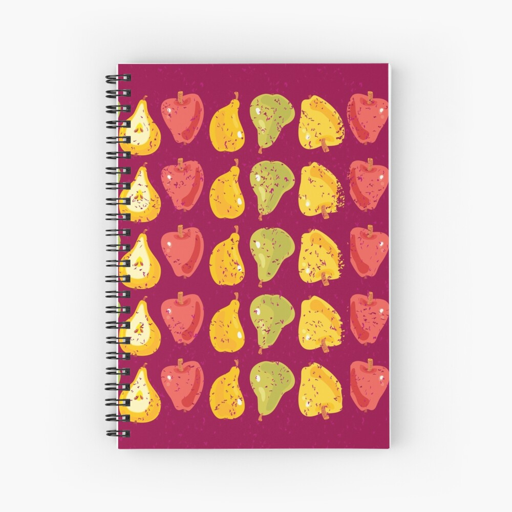 Apples & Pears Spiral Notebook