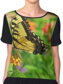 Butterfly Too Women's Chiffon Top