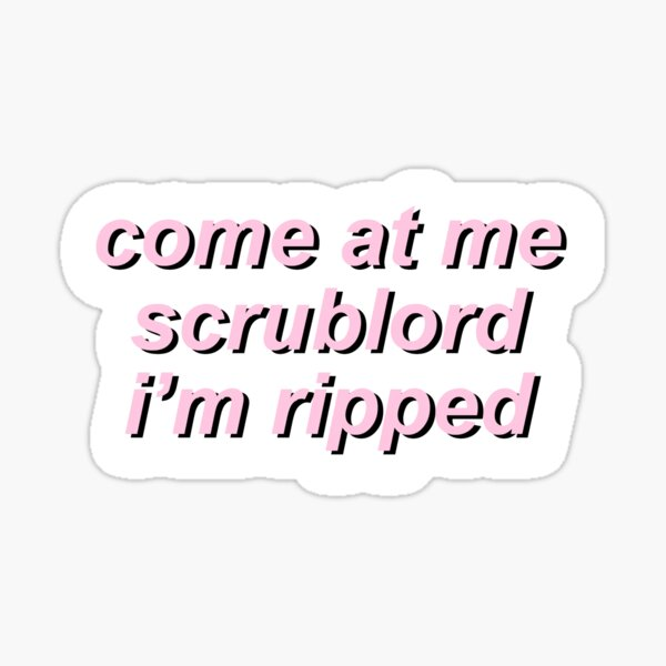 Game Grumps - Come At Me Scrublord Sticker