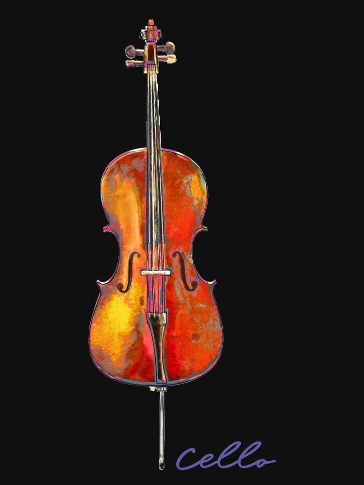 Cello by evisionarts