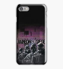 Rainbow Six Siege SAS (iPhone) iPhone Case/Skin