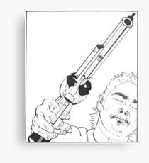 Gangsta I Metal Print