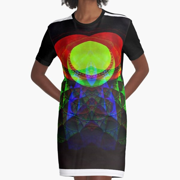 Dome light dance Graphic T-Shirt Dress