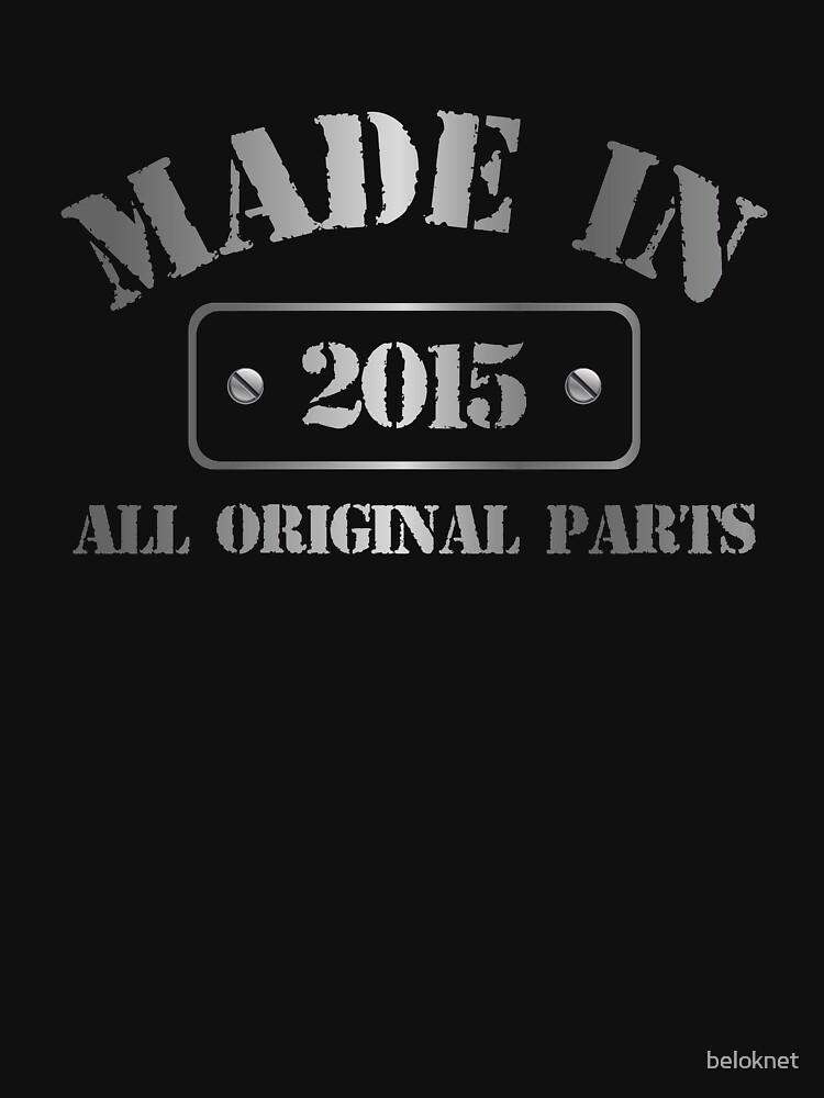 Made in 2015 by beloknet