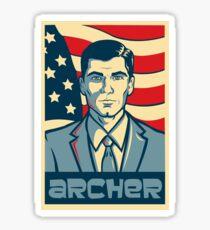 Archer for President - Archer Sticker