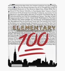 #Elementary100  iPad Case/Skin