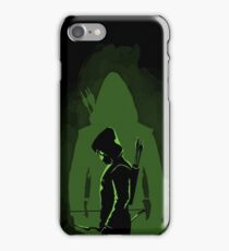 Green shadow iPhone Case/Skin