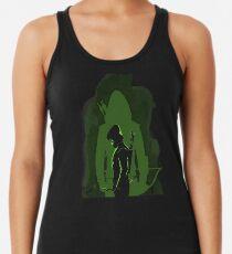 Green shadow Racerback Tank Top