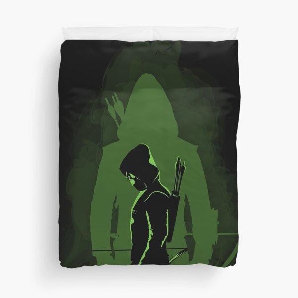 Green shadow Duvet Cover