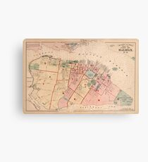 Map of Halifax 1878 Metal Print