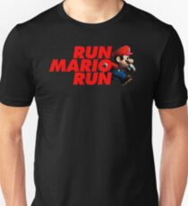 Super Mario - Run Mario Run - Clean Unisex T-Shirt