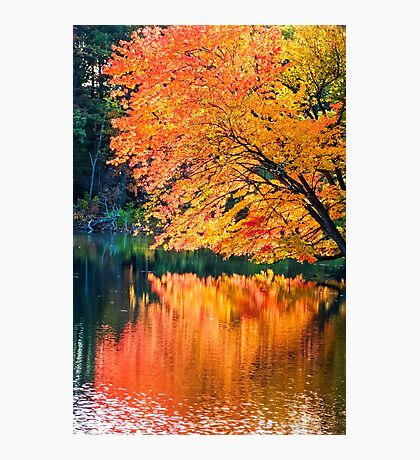The Magic of Autumn in New England Photographic Print