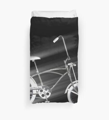 Black Bike Duvet Cover