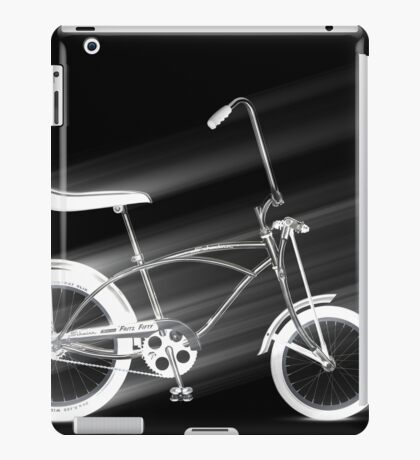 Black Bike iPad Case/Skin