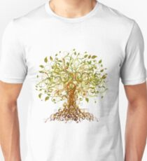 Colorful Modernist Tree 13 Unisex T-Shirt