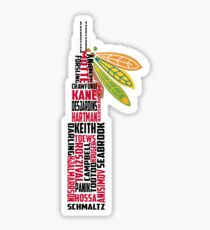 Chicago Blackhawks Tower Sticker