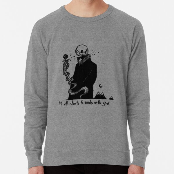 It All Starts And Ends With You 95 Lightweight Sweatshirt