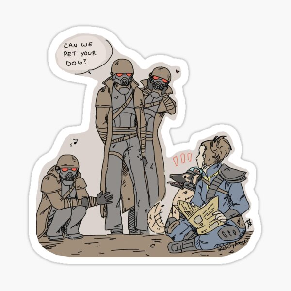NCR and Rex Sticker
