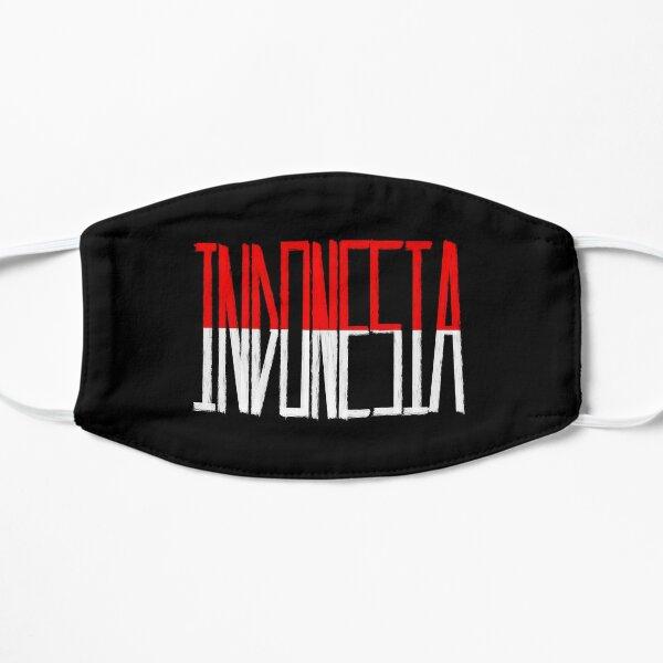 Mi camiseta con la bandera de Indonesia, bandera de Indonesia, camiseta, República de Indonesia Mascarilla plana