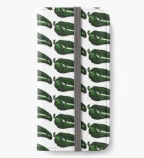 Green Pepper iPhone Wallet/Case/Skin