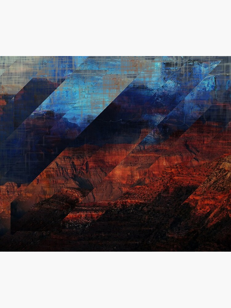 Deconstructing Time Altered Landscapes Grand Canyon by TammyWinandArt