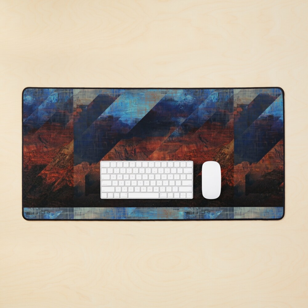 Deconstructing Time Altered Landscapes Grand Canyon Mouse Pad
