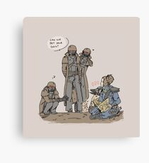 NCR and Rex Canvas Print
