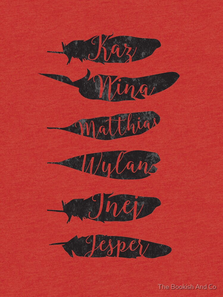 The Dregs - Six Of Crows de isabellarrazola
