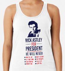 Rick Astley Für den Präsidenten Tanktop für Frauen