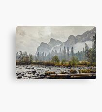 Rivers and Roads Canvas Print