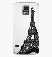 Eyeful Tower Black and White Case/Skin for Samsung Galaxy