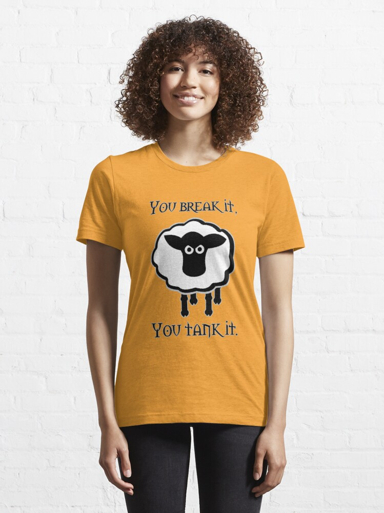 Alternate view of You Tank It - sheep (clean) Essential T-Shirt