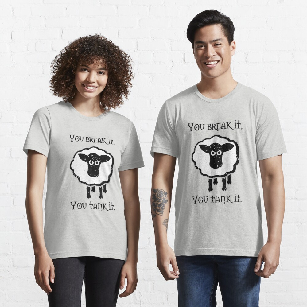 You Tank It - sheep (distressed) Essential T-Shirt