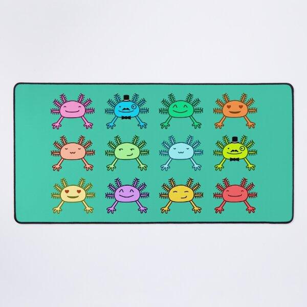 Merry axolotl collection Desk Mat