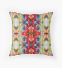 Macro Sprinkles Pattern Throw Pillow