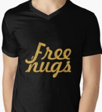 Free Hugs - Making of relation quote Men's V-Neck T-Shirt