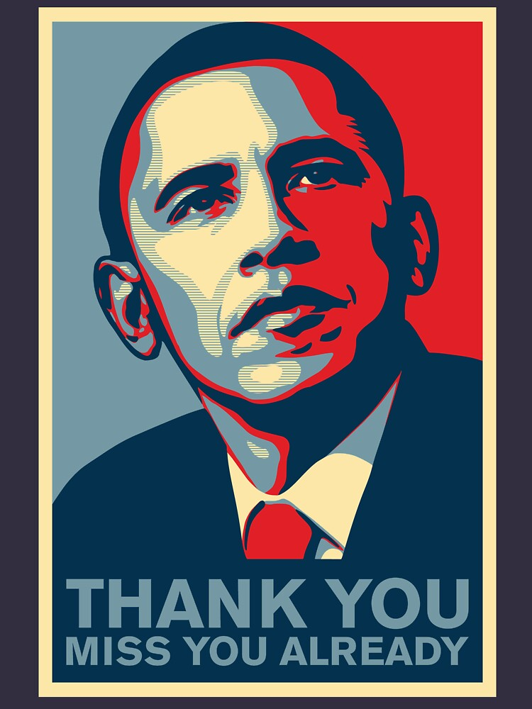 Obama - Thank You, Miss You Already by marcoafsousa