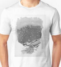 night scene snow T-Shirt