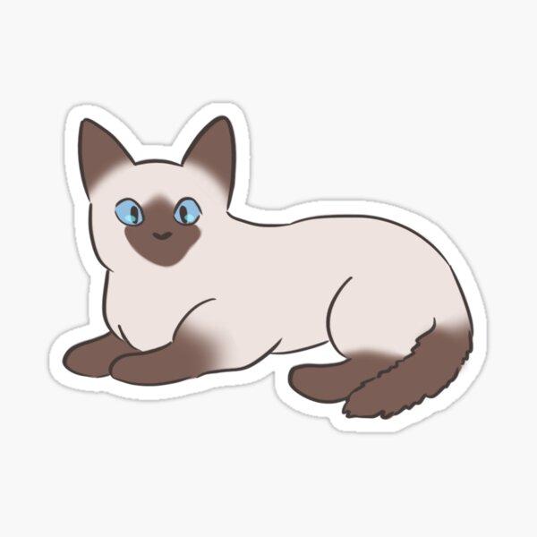 Siamese Kitten Sticker