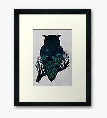 Owlscape Framed Print
