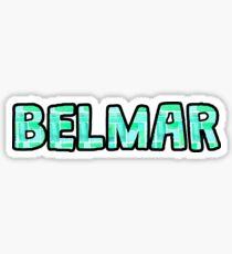 Belmar Watercolor Sticker