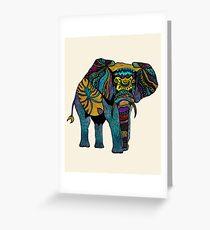 Elephant of Namibia Greeting Card