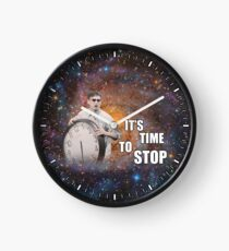 It's Time to Stop! Clock