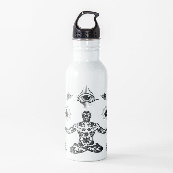 Spiritual Being Energy Meditating 209 Water Bottle